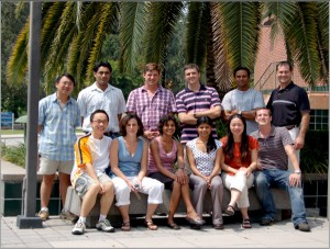 Glenn Walter's lab, 2008