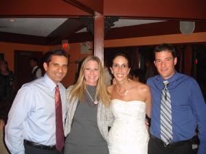 Lab Reunion at Tiffany's Wedding