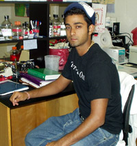Amit Sood, Summer Research Student, Summer 2005