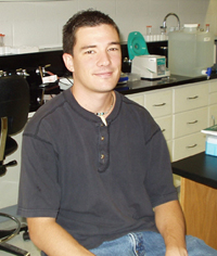Eric Sandberg, Graduate Student, 2001 - 2004